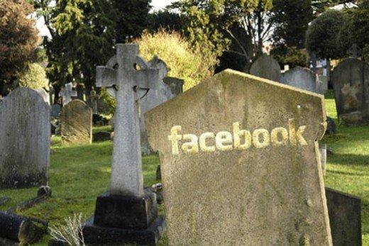 facebook-on-gravestone